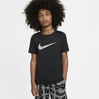 Nike Κοντομάνικη μπλούζα προπόνησης για μεγάλα αγόρια