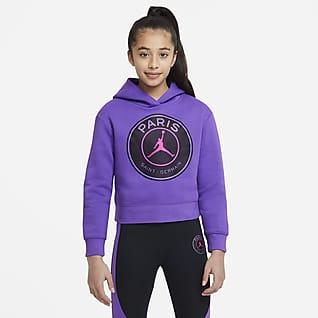 Paris Saint-Germain Older Kids' (Girls') Pullover Hoodie
