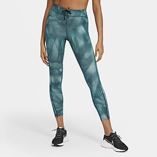 Nike Epic Faster Run Division Mallas de running de 7/8 para mujer