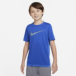 Nike Dri-FIT Trophy 大童 (男童) 圖樣訓練上衣
