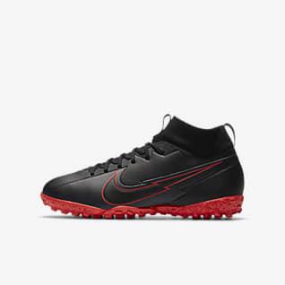 Nike Jr. Mercurial Superfly 7 Academy TF Fotbollssko för grus/turf för barn och ungdom