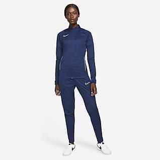Nike Dri-FIT Academy Strikket fotballtracksuit til dame