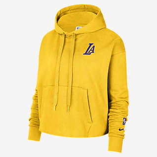 Los Angeles Lakers Women's Nike NBA Fleece Pullover Hoodie
