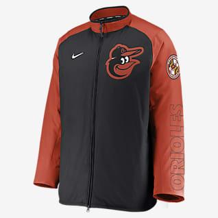 Nike Dugout (MLB Baltimore Orioles) Men's Full-Zip Jacket