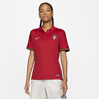 Portugal 2020 Stadium (hemmaställ) Fotbollströja för kvinnor