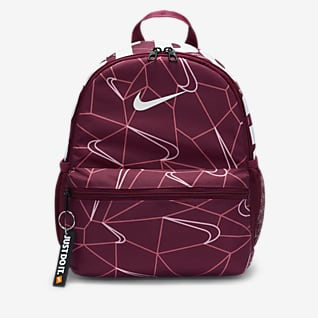 Nike Brasilia JDI Mini Mochila estampada para criança