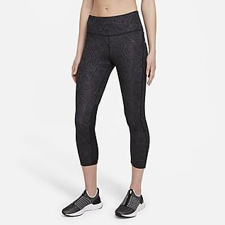 Nike Fast Run Division Középmagas derekú, rövidített női futóleggings
