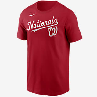 Nike Wordmark (MLB Washington Nationals) Men's T-Shirt