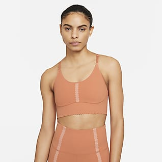 Nike Yoga Dri-FIT Indy Women's Light-Support Padded Eyelet Sports Bra