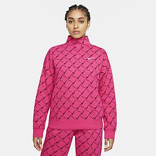 Nike Sportswear Women's Fleece 1/4-Zip Top