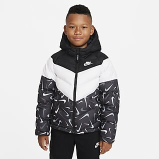 Nike Sportswear Therma-FIT Older Kids' Synthetic-Fill Printed Jacket