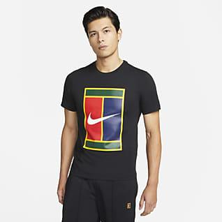 ナイキコート メンズ ロゴ テニス Tシャツ