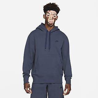 Nike Sportswear Sudadera con capucha sin cierre de tejido Fleece clásico para hombre