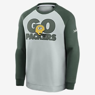 Nike Historic Raglan (NFL Packers) Herren-Sweatshirt