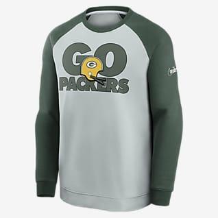 Nike Historic Raglan (NFL Packers) Men's Sweatshirt