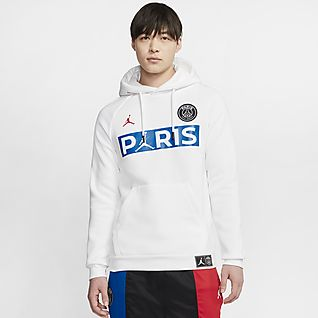 Bluza dzianinowa z kapturem Paris Saint Germain. Nike PL