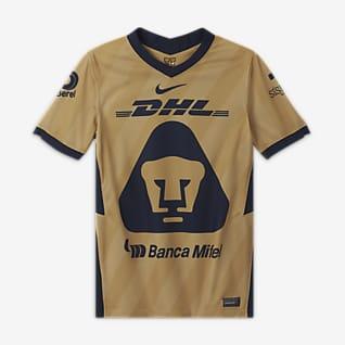 Camiseta alternativa Pumas UNAM 2020/21 Stadium Camiseta de fútbol para niños talla grande