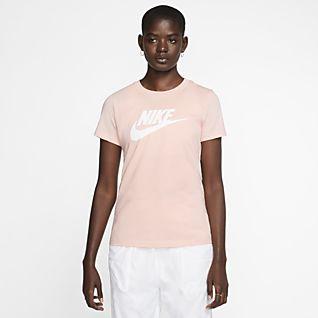 Dame Nike Tettsittende Overdeler og T skjorter. Nike NO