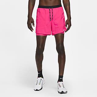 Nike Flex Stride Ανδρικό σορτς για τρέξιμο δύο σε ένα 13 cm