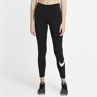Nike Sportswear Essential Women's Mid-Rise Swoosh Leggings