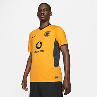 Kaizer Chiefs F.C. 2021/22 Stadium Home Nike Dri-FIT-fodboldtrøje til mænd