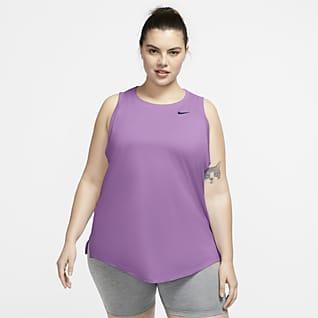 Nike Dri-FIT Camiseta de tirantes de entrenamiento para mujer Swoosh (talla grande)