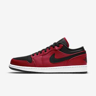 chaussure air jordan rouge et noir