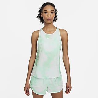 Nike Icon Clash City Sleek Løbetanktop til kvinder