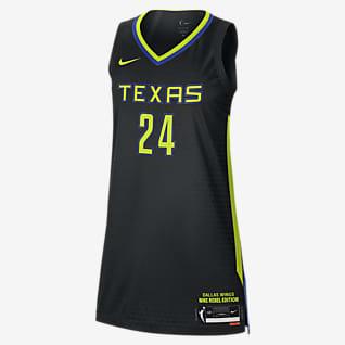 Arike Ogunbowale Wings Rebel Edition Jersey Nike Dri-FIT ADV WNBA para mujer