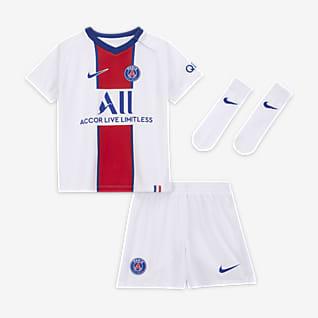 Paris Saint-Germain 2020/21 (bortaställ) Fotbollsställ för baby/små barn
