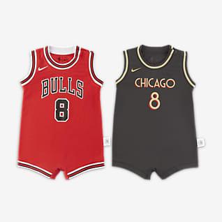 芝加哥公牛队 Nike NBA 婴童连体衣(2 件)