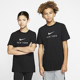 Nike Dri-FIT New York Playera para niños talla grande