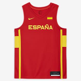 Spain Nike (Road) Limited Jersey Nike Basketball för män