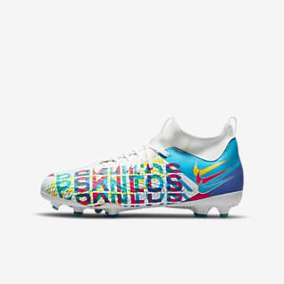 Nike Jr. Phantom GT Academy Dynamic Fit 3D MG Fodboldstøvle til flere typer underlag til små/større børn
