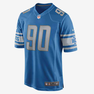NFL Detroit Lions (Trey Flowers) Men's Game Football Jersey
