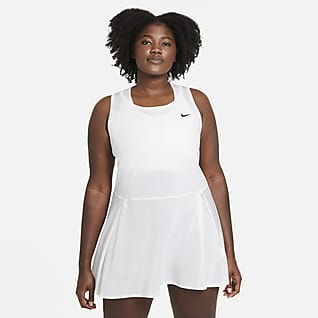 NikeCourt Dri-FIT Advantage Women's Tennis Dress (Plus Size)