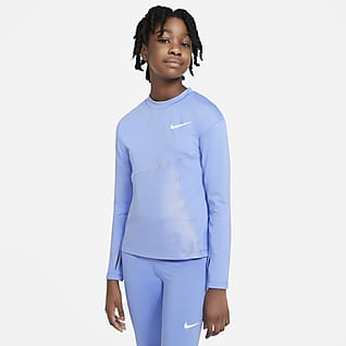 Nike Pro Warm Older Kids' (Girls') Training Top