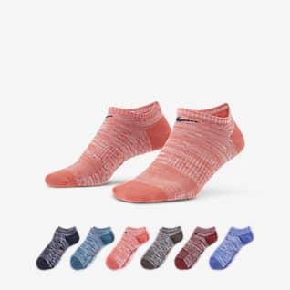 Nike Everyday Women's Lightweight No-Show Training Socks (6 Pairs)