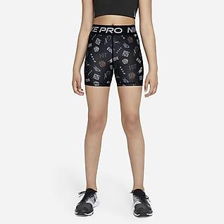Nike Pro Dri-FIT Pantaloncini - Ragazza