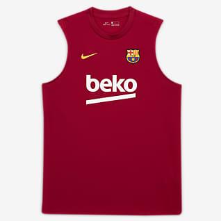 F.C. Barcelona Strike Men's Sleeveless Football Top
