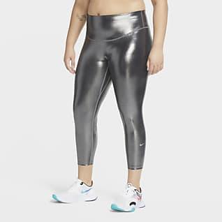 Nike One Icon Clash Leggings a 7/8 (Plus size) - Donna