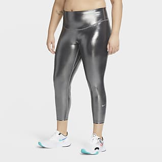 Nike One Icon Clash Leggings a 7/8 (Plus size) - Donna