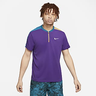 NikeCourt Breathe Slam Tennis-Poloshirt für Herren