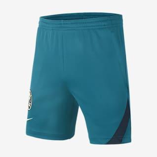 Club América Academy Pro Shorts de fútbol para niños talla grande