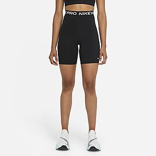 Nike Pro 365 Short 18 cm taille haute pour Femme