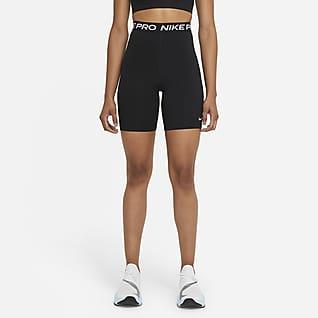 Nike Pro 365 Shorts de 18 cm y tiro alto para mujer