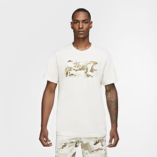 Nike Dri-FIT Ανδρικό T-Shirt προπόνησης με λογότυπο και μοτίβο παραλλαγής