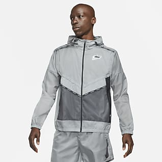 Nike Repel Wild Run Windrunner Casaco de running com grafismo para homem