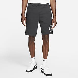 Nike Sportswear Pantalons curts de teixit Fleece - Home