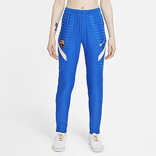 FC Barcelona Strike Elite Pantalones de fútbol tejidos Nike Dri-FIT ADV para mujer